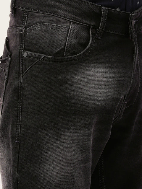 Smoke Casual Classic Fit Jeans