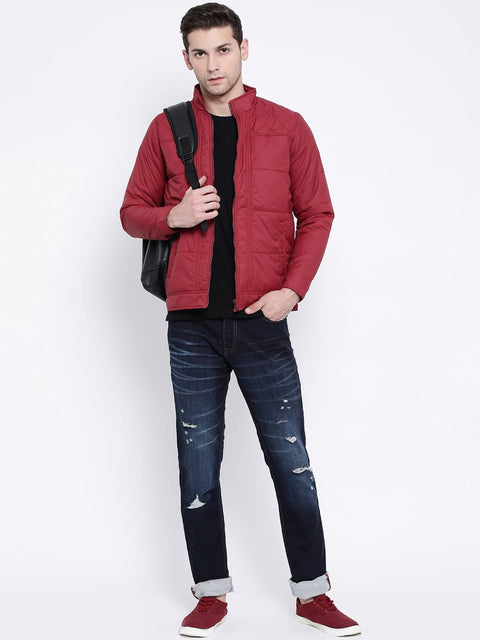 Maroon Casual Jacket for men