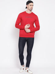 Maroon Sweatshirt for men