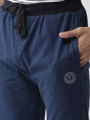 Blue Slim Fit Lower close view