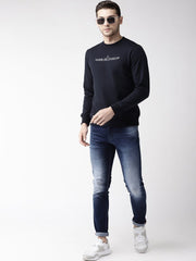Sky Solid Sweatshirt for Men
