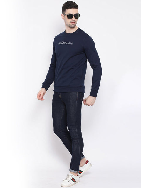 Navy Blue Sweatshirt for men