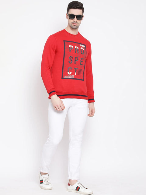 Red Sweatshirt for Men