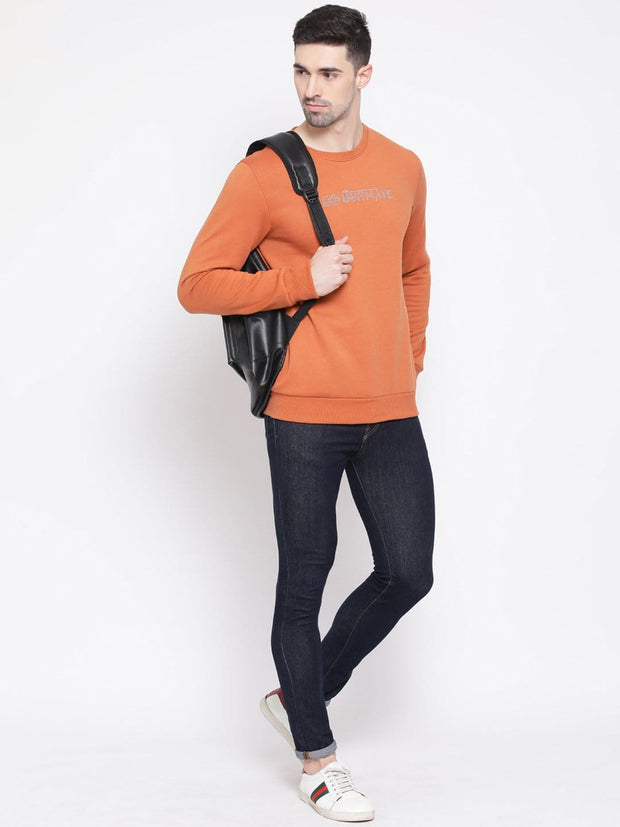 Rust Sweatshirt for Men