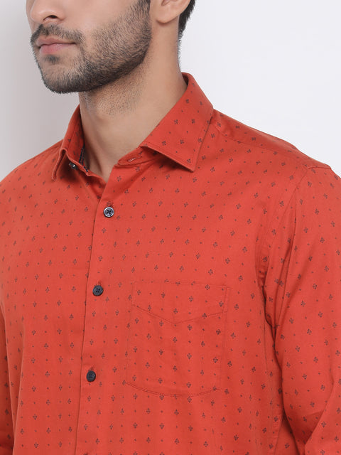 Turmeric Slim Fit Casual Shirt