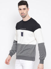 richlook Black white Grey Sweatshirt