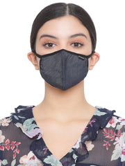 Richlook Deep Indigo Oval Shape Denim Mask