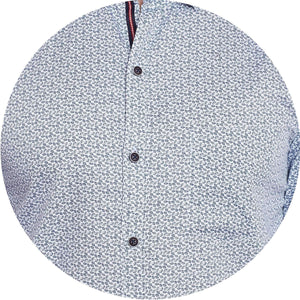Richlook White Color Casual Shirt