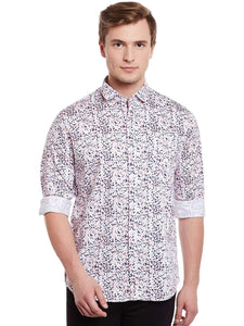 Richlook White Casual Shirt