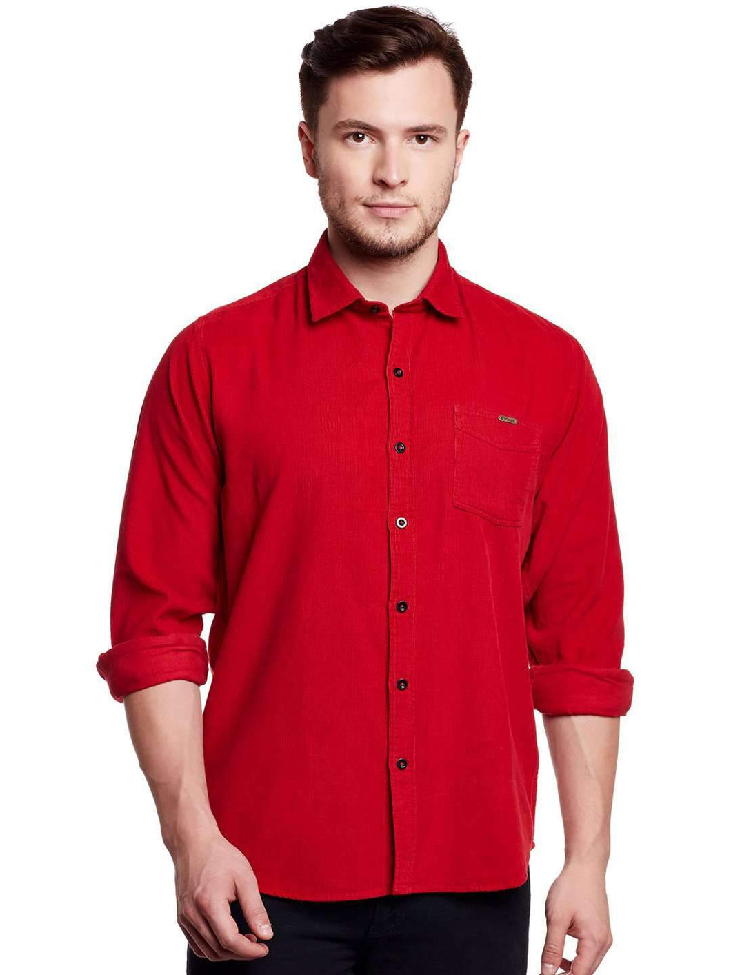 Richlook Red Casual Shirt