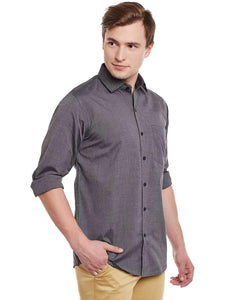 Richlook Smoke Formal Shirt