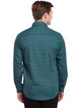 Load image into Gallery viewer, Richlook Green&Blue Casual Shirt