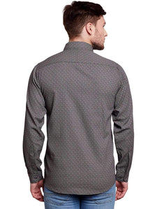 Richlook Black Casual Shirt