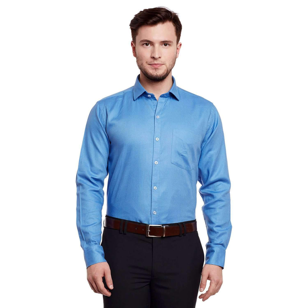 Richlook Blue Formal Shirt