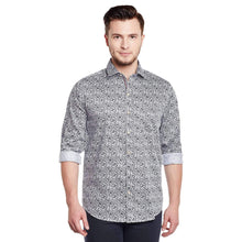Load image into Gallery viewer, Richlook White Color Printed Casual Shirt