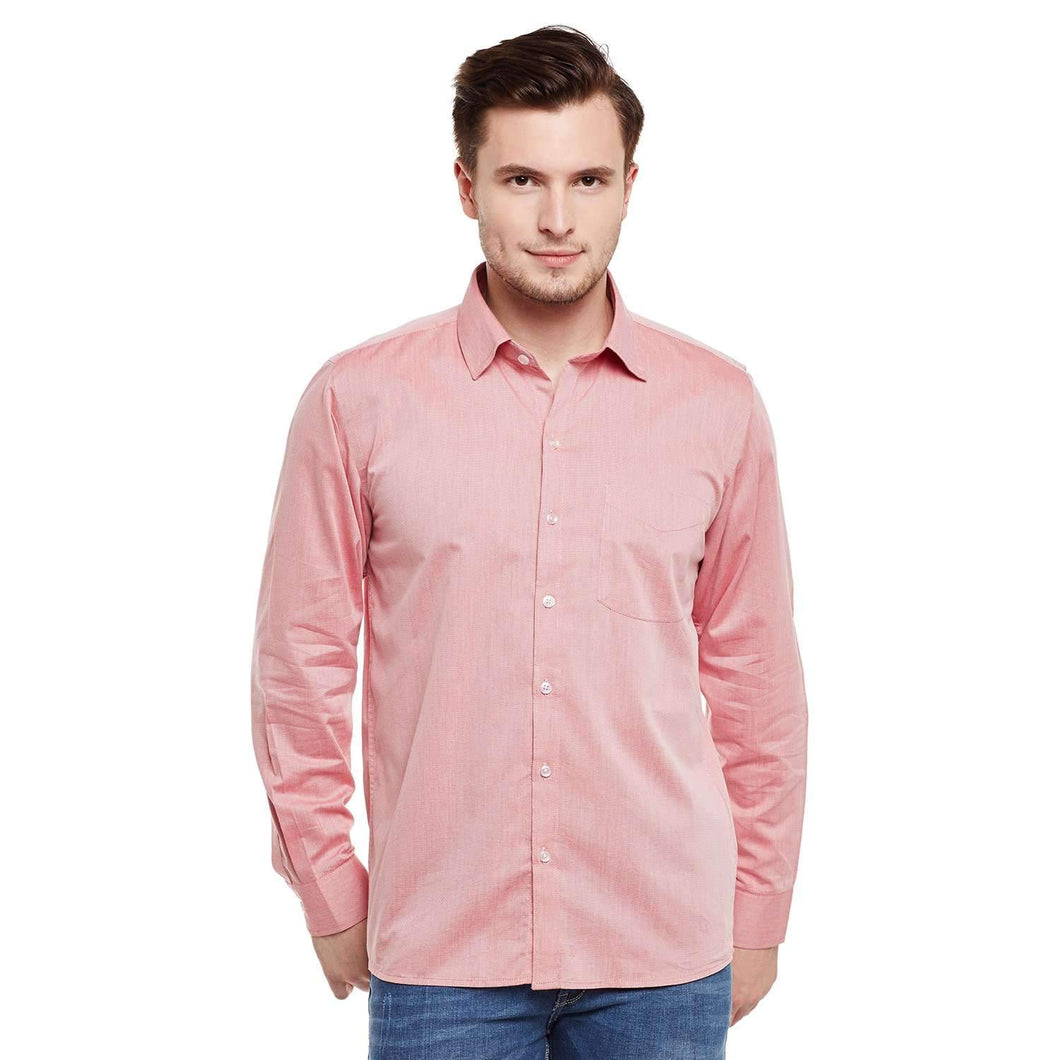 Richlook Red Color Formal Shirt