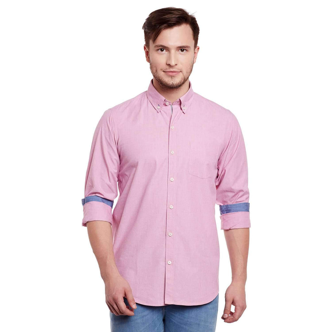 Richlook Pink Casual shirt