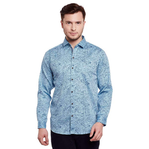 Richlook Blue/Sky Casual Shirt