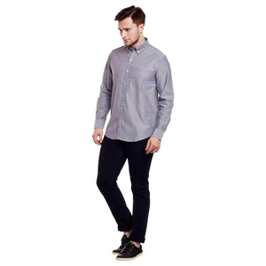 Richlook Black Color Casual Shirt