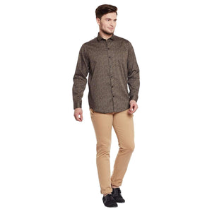 Richlook Brown Color Casual Shirt