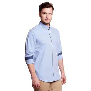 Richlook Light Blue Casual shirt