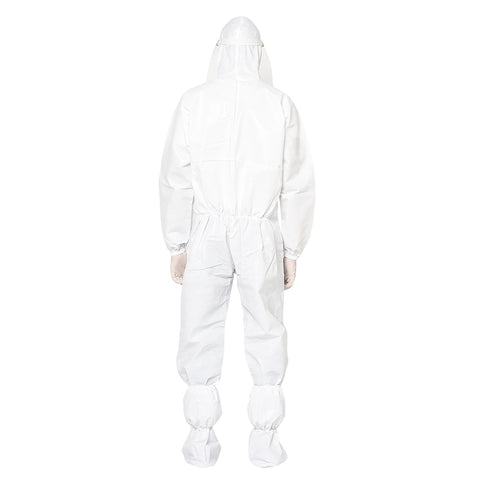 RLCARE Disposable White Coverall With Goggles- PPE