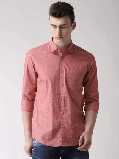 Dark Pink Casual Shirt