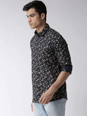 Black Casual Shirt side view