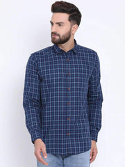 Blue & Tapesty Blue Casual shirt