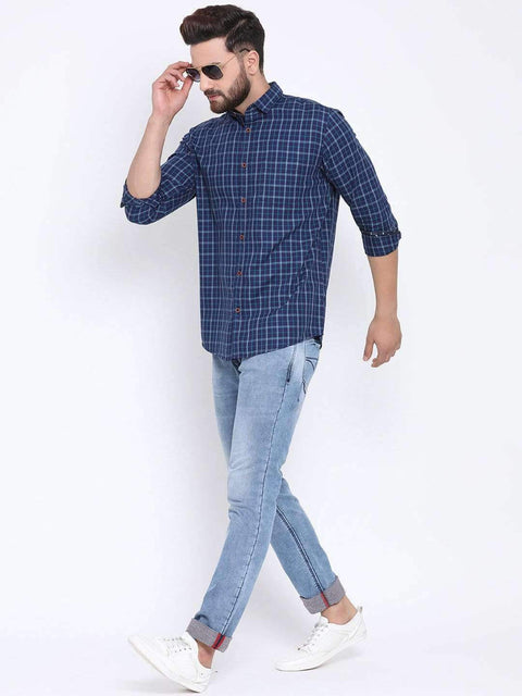 Blue & Tapesty Blue Casual shirt full view