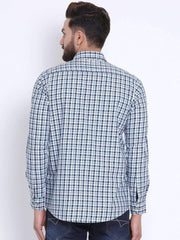 Multi Color Casual Shirt back view