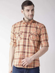 Richlook Multi Color Slim Fit Casual Shirt