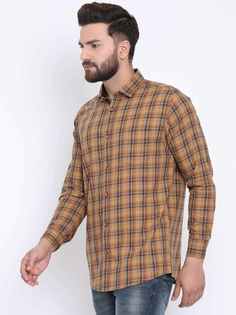 Mustard Casual Slim Fit Shirt side view