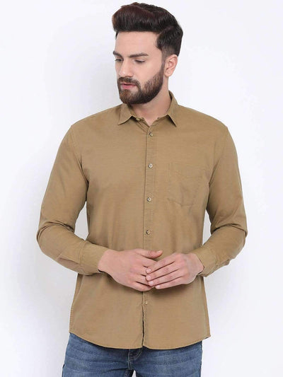 Mustared Slim Fit Shirt