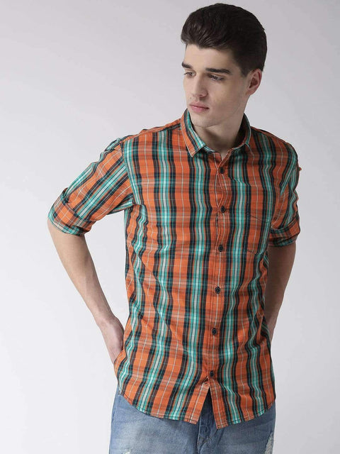 Orange & Tapesty Casual Shirt