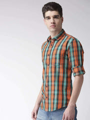 Orange & Tapesty Casual Shirt for men