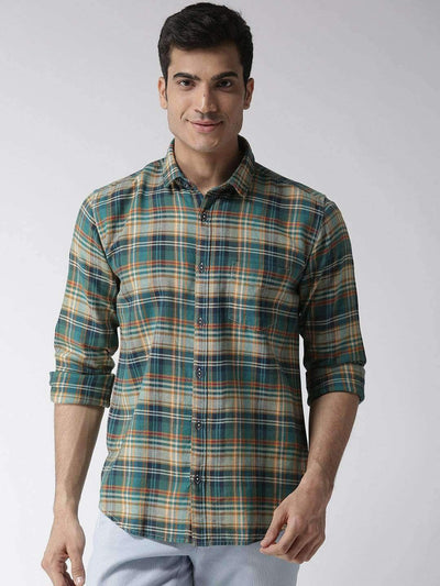 Richlook & Slim Fit Casual Shirt