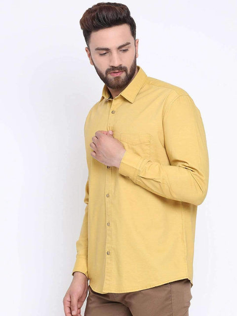 Termic Casual Slim Fit Shirt side view