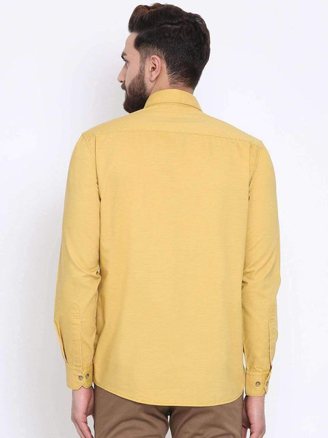 Termic Casual Slim Fit Shirt back view