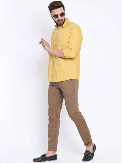 Termic Casual Slim Fit Shirt full view