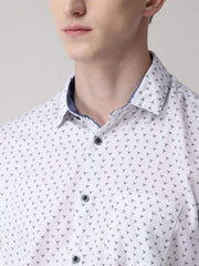 White Casual Shirt for men