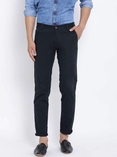 Blue Slim Fit Trouser