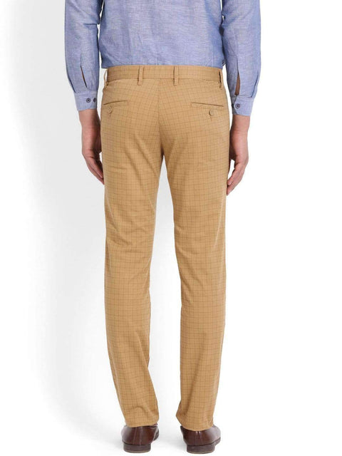 Richlook Khaki Slim Fit Trouser