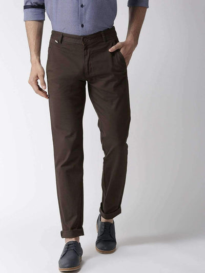 Olive Casual Slim Fit Trouser