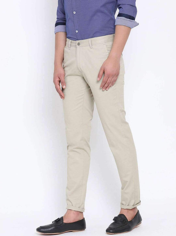 Richlook Casual Trouser Richlook Olive Casual Slim Fit Trouser