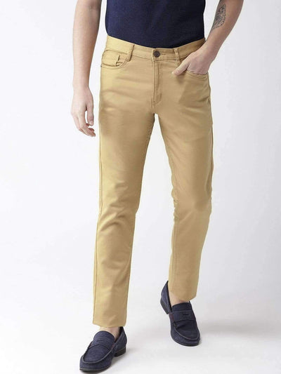 Turmeric Casual Slim Fit Trouser