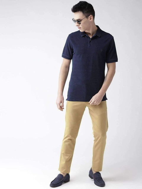 Turmeric Casual Slim Fit Trouser Full view
