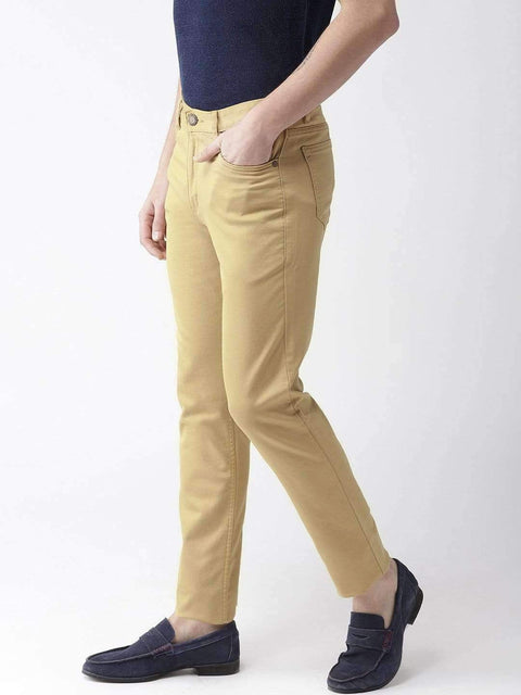 Turmeric Casual Slim Fit Trouser side view