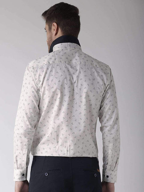 Cream Club Wear Shirt Back view