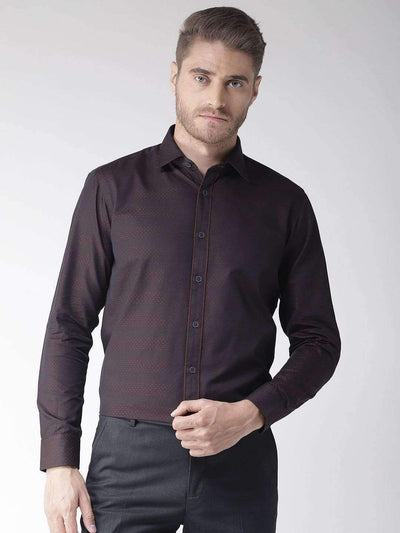 Maroon Club Wear Shirt